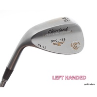 CLEVELAND REG.588 PRECISION FORGED SAND WEDGE 54.12 STEEL WEDGE FLEX -LH #D713