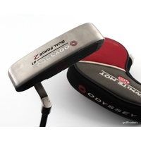 "ODYSSEY DUAL FORCE 2 #1 PUTTER STEEL 36.5"" + COVER #E1206"