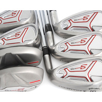 ADAMS GOLF SPEEDLINE PLUS COMBO IRONS 4,5 HYBRIDS + 6-PW IRONS STIFF - #E1223