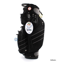 EAGLES AND BIRDIES CYPRESS POINT GOLF CART BAG BLACK - NEW #E1393