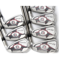 WILSON STAFF D-200 IRONS 4-PW STEEL ELEMENTS GRAPHITE REG FLEX - NEW - #E1503