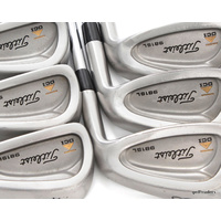 TITLEIST DCI 981SL IRONS 4-PW STEEL RIFLE STIFF FLEX + ALL NEW GRIPS #E1740