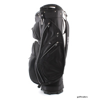 EAGLES AND BIRDIES STABLEFORD GOLF CART BAG BLACK - NEW - #E1789