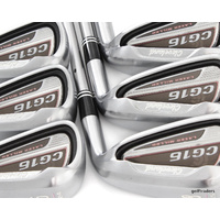 CLEVELAND CG16 LADIES IRONS 5-PW GRAPHITE LADIES FLEX + ALL NEW GRIPS #E1842