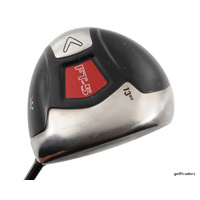 CALLAWAY FT-5 DRAW DRIVER 13HT GRAPHITE FUJIKURA SENIORS FLEX +NEW GRIP #E2209