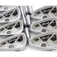 WILSON STAFF FG TOUR V2 IRONS 4-PW STEEL KBS TOUR STIFF FLEX #E2311