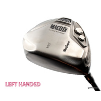 MACGREGOR MACTEC NVG2 10.5º DRIVER GRAPHITE REGULAR - NEW GRIP LH #E2403