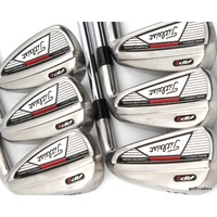 "TITLEIST AP1 IRONS 5-PW STEEL DYNAMIC GOLD R300 REGULAR FLEX (+0.25"") #E2438"