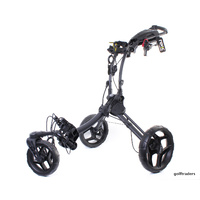 ROVIC RV1S SWIVEL GOLF BUGGY - CHARCOAL / BLACK - NEW - #E2722