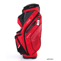 PING 2017 PIONEER CART BAG - RED / BLACK / LIGHT GREY - NEW - #E2815