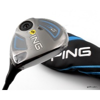 PING G SERIES 5 WOOD 17.5º GRAPHITE SOFT REGULAR FLEX + COVER - NEW #E2826