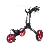 ROVIC RV1C GOLF BUGGY - CHARCOAL / RED - NEW - #E2951