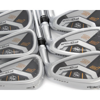 WILSON STAFF FG TOUR F5 FORGED IRONS 4-PW DYNAMIC GOLD S300 STIFF - NEW #E3050