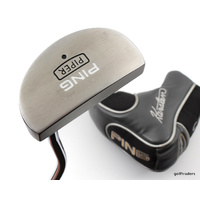 "PING KARSTEN SERIES PIPER PUTTER STEEL TRUE TEMPER 35"" + COVER #E3194"