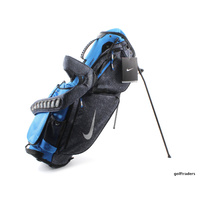 NIKE AIR SPORT CARRY III STAND BAG DK OBSDN / SLVR / PHT BLUE - NEW - #E3220