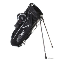 SUN MOUNTAIN H2NO 14 LITE 100% WATERPROOF STAND BAG - BLACK - NEW #E3227