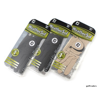 3-PACK FOOTJOY WEATHERSOF LADIES RH SML GLOVES -LH PLAY BEIGE & BLACK NEW E3697