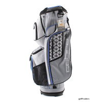 COBRA 2017 ULTRALIGHT CART BAG WHITE / QUARRY / ULTRAMARINE - NEW #E396