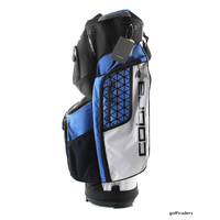 COBRA 2017 ULTRALIGHT CART BAG BLACK / STRONG BLUE / WHITE - NEW #E397