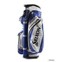 SRIXON GOLF CART BAG WHITE/ BLUE/ GREY - USED #E568