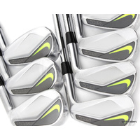NIKE VAPOR PRO FORGED IRONS 4-PW DYNAMIC GOLD X100 STIFF FLEX + NEW #E676