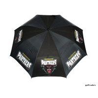 NRL PENRITH PANTHERS GOLF UMBRELLA - NEW EX - FLOOR STOCK - #E925