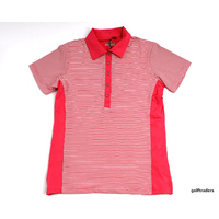 SPORTE LEISURE DRI-SPORTE LADIES GOLF SHIRT SIZE 8 CONFETTI - NEW #C2061