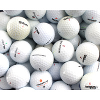 70 X WILSON MIXED GOLF BALLS - GOOD CONDITION - #C4810