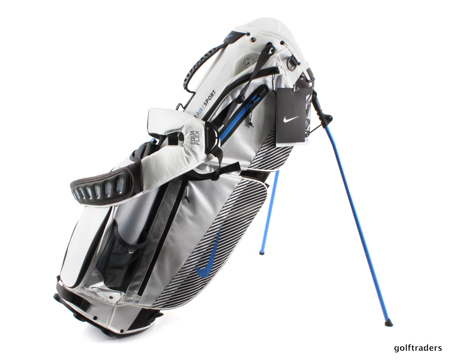 New Nike Air Sport Golf Stand Bag White   Photo Blue   Black F51 abf91dc521b