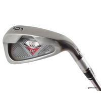 WILSON STAFF Ci7 6 IRON TRUE TEMPER TX-105 STEEL STIFF FLEX - #C1529