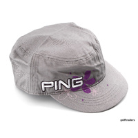 Clearance New Ping Ladies Ranger Golf Cap Grey C2775