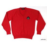 Clearance Honma Professional Sweater Size L Red C5976