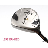 Clearance Cleveland FL 3 Wood 15º Graphite Stiff Flex Left Handed C738