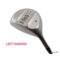 KING COBRA 3 WOOD 14º GRAPHITE STIFF FLEX + NEW GRIP - LH #D2010