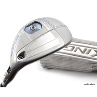 COBRA KING F6 SILVER 4-5 HYBRID 22º-25º GRAPHITE LADIES FLEX + COVER - #D3716