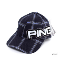 PING JUNIOR GOLF CAP - NAVY - NEW - #D493