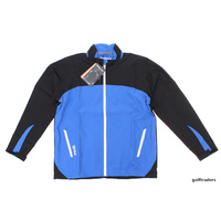 Clearance New Ping Hydro Jacket Delph Blue/Black Size Medium D498
