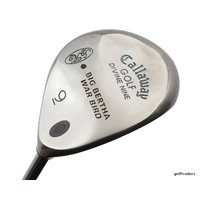CALLAWAY DIVINE NINE BIG BERTHA WARBIRD 9 WOOD 24° GRAPHITE LADIES FLEX #E1046