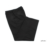 "DRIWALK WATER REPELLENT GOLF TROUSERS - BLACK - 3XL / W40"" / L34"" NEW #E2146"