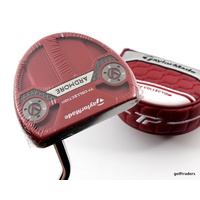 "TAYLORMADE TP COLLECTION SS ARDMORE RED PUTTER STEEL 35"" + COVER - NEW #E2500"