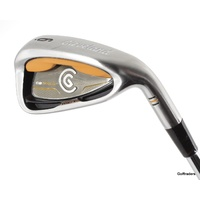 CLEVELAND MCT CG GOLD 6 IRON ACTIONLITE FLIGHTED STEEL STIFF FLEX #E2514