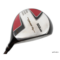 WILSON DRAW RX 5 WOOD 21º STEEL TRUE TEMPER REGULAR - NEW GRIP #E2579
