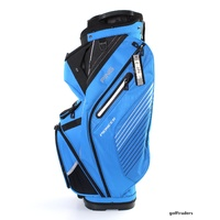 PING 2017 PIONEER CART BAG - BIRDIE BLUE / BLACK / WHITE - NEW #E2816