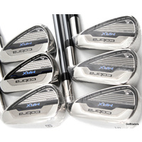 COBRA MAX TECFLO 5-PW IRONS MATRIX MFS WHITE TIE SHAFTS LITE FLEX - NEW E3461