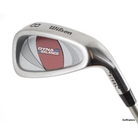 WILSON DYNA BALANCE LADIES 8 IRON GRAPHITE LADIES FLEX #E3668