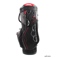 SUN MOUNTAIN X1 CART BAG - BLACK / GUNMETAL / BRIGHT RED - NEW - #E3703