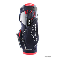 SUN MOUNTAIN X1 CART BAG - NAVY / WHITE / BRIGHT RED - NEW - #E3704