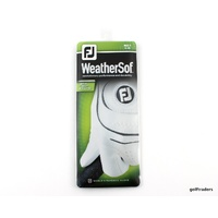 FOOTJOY WEATHERSOF ALL WEATHER GOLF GLOVE WHITE MENS LEFT HAND X-LARGE - E3718