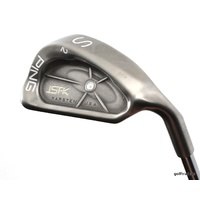 PING ISI-K 2 WHITE DOT SAND WEDGE STEEL STIFF FLEX - #E3978