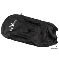 EAGLES AND BIRDIES WATERPROOF GOLF BAG RAIN COVER FULL SIZE - BLACK #E4103